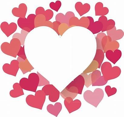 Transparent Valentines Border Frames Heart Borders Clipart