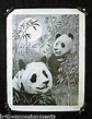 Chinese Panda Bears Limited Edition Art Print Poster ...