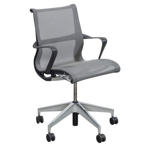 herman miller setu chair used herman miller setu used task chair gray mesh national