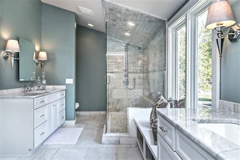 marble master bathroom designs page