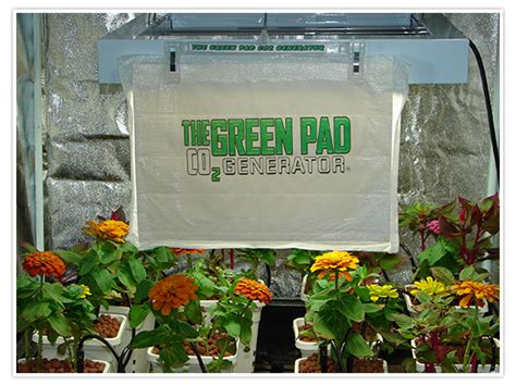 the green pad co2 generator hydroponic indoor
