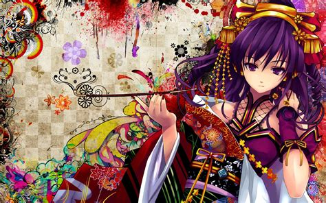 Anime Geisha Wallpaper - anime geisha desktop wallpapers wallpapersafari