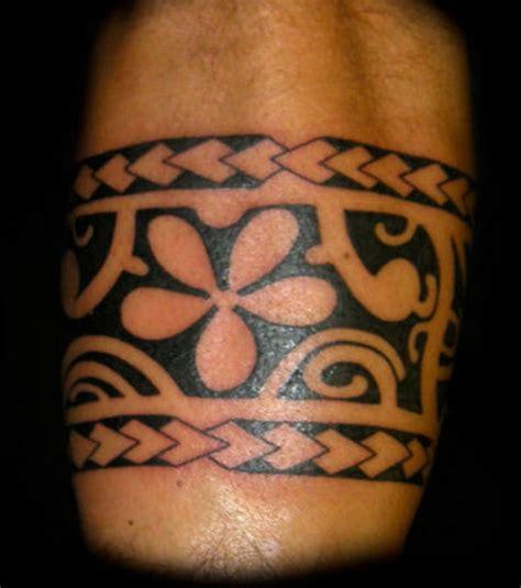 Tatouage Polynésien Avant Bras Bracelet  Modèles Et Exemples