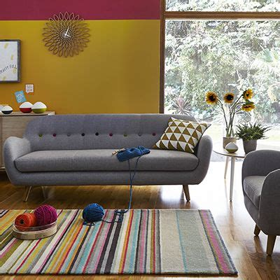 barker stonehouse tula colourful living room with grey