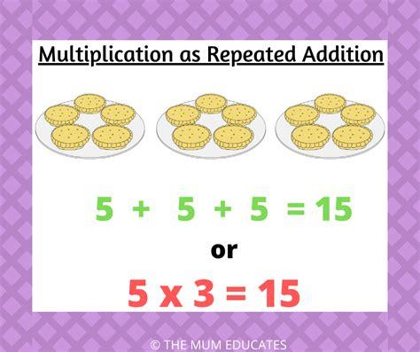teach multiplication  ks children examples