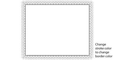 patriotic certificate borders vector images patriotic