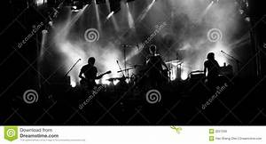 Rock Band Silhouette Royalty Free Stock Images - Image ...
