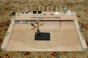 diy fly tying bench how to make a gun cabinet from wood