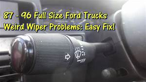 Easy Fix  Ford Truck Wiper Issues Solved By