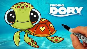Cute Drawings Of Turtles How To Draw Squirt From Finding ...