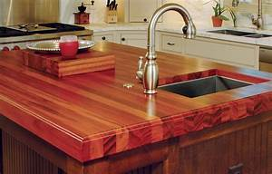 Wood Countertops With Sinks And Wet Areas J Aaron