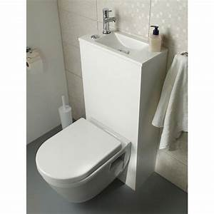 Reservoir Wc Lave Main : pack wc lave mains suspendu duo castorama wc ~ Premium-room.com Idées de Décoration