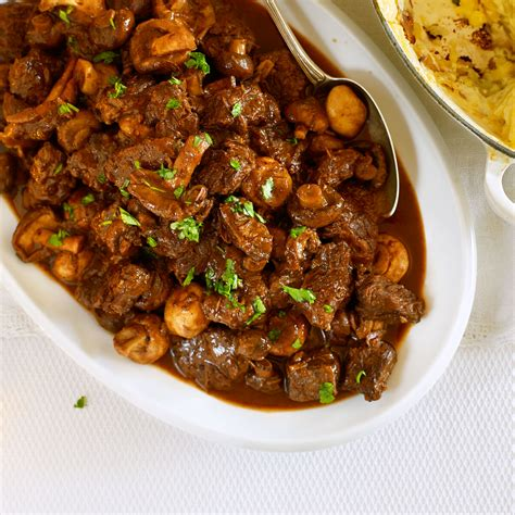 beef cooked slow mushrooms wine mushroom casserole recipes recipe dinner slowcooker womanandhome woman print