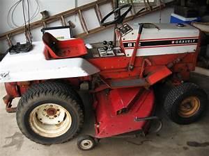 19   Gravely 812 Mower