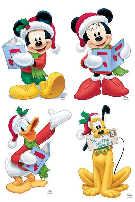 mickey mouse  friends christmas official disney
