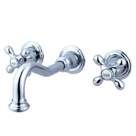 elements of design vintage wall mounted bathroom faucet