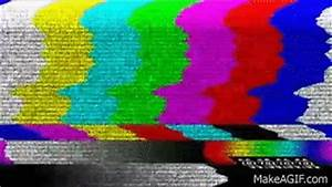 TV Color Bars - Distorted with Static and Timecode on Make ...