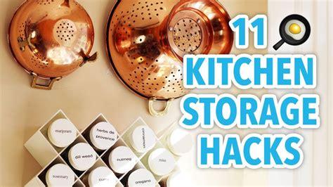 kitchen storage hacks 11 kitchen storage hacks hgtv handmade 3149