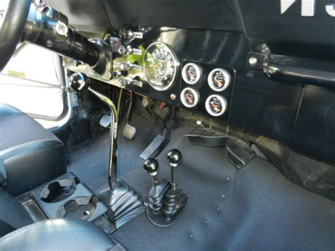 jeep cj renegade fuel injection factory dana  rear