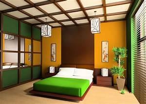 Finest Design Modern Green Bedroom Interior ...