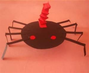 Basteln Halloween Mit Kindern : basteln mit kindern kostenlose bastelvorlage halloween halloween spinne ~ Yasmunasinghe.com Haus und Dekorationen