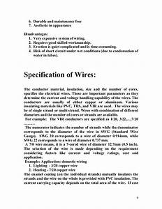 Electrical Installation Specification Example