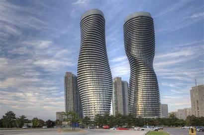 Architecture Postmodern Absolute Canada Mississauga Futuristic Designs