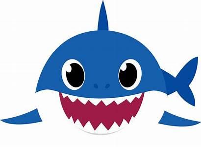 Shark Daddy Transparent Clipart Background Mama Azul