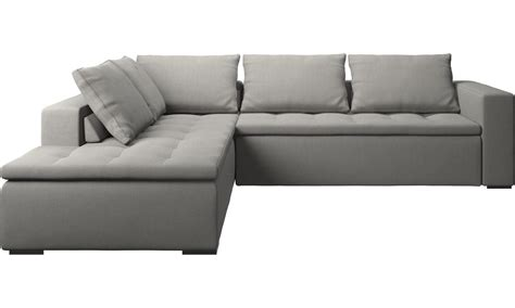 storage end tables for living sofas with open end mezzo corner sofa with lounging unit