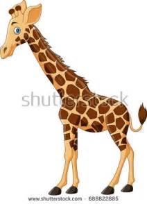 giraffe cartoon stock images royalty  images