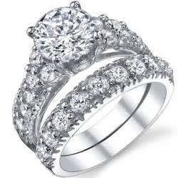 high quality cubic zirconia wedding rings bridal sets high quality cubic zirconia bridal sets