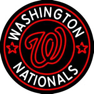 Washington Nationals Logo Baseball