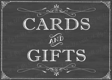 Wedding Chalkboard Sign Printable Cards Wedding Card Sign