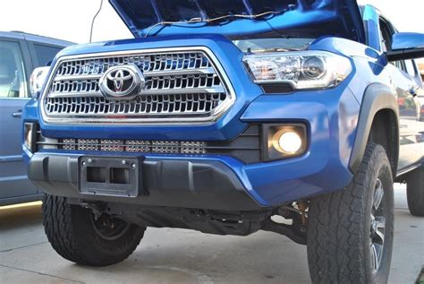 tacoma led light bar 2016 3rd light bar brackets great quality and