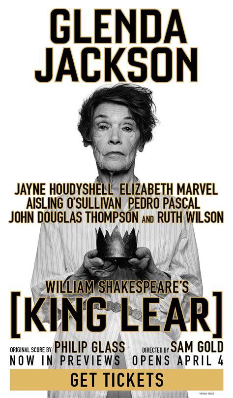 King Lear on Broadway | King lear, Glenda jackson ...