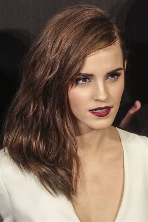 Emma Watson Rocks Plunging Neckline Madrid Noah