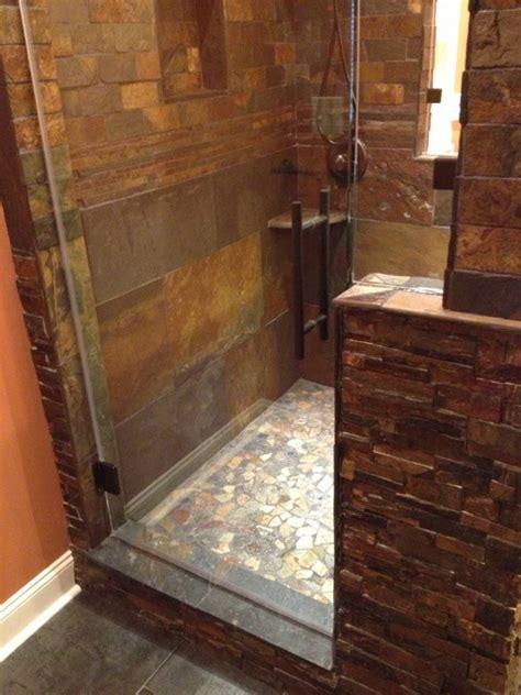 man cave shower remodel