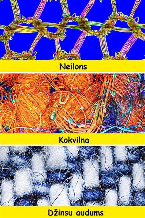 Lietas, kuru atšķirības ir pamanāmas tikai zem mikroskopa ...