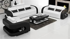2015 New Sofa Design Modern Leather Sofa In Living Room