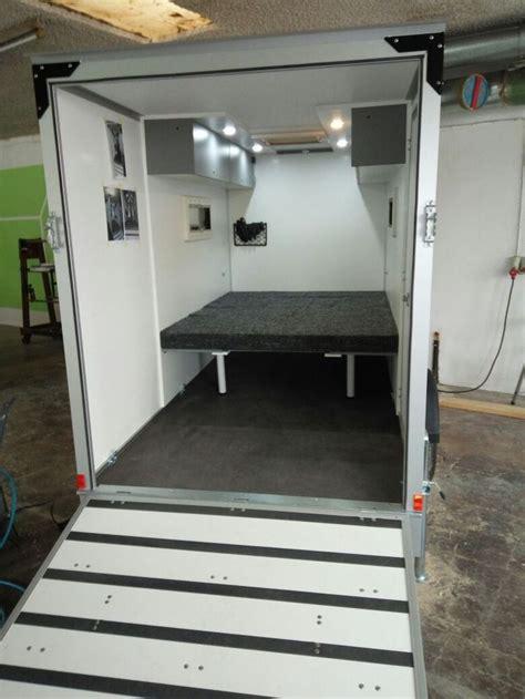 Funcube Wohnwagen Mit Garage ( Motorradschlaf Anhänger