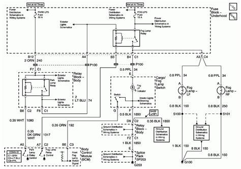 2001 Chevy Silverado 1500 Light Wiring Diagram by Howtorepairguide Fog Light Wiring Diagram For 2006
