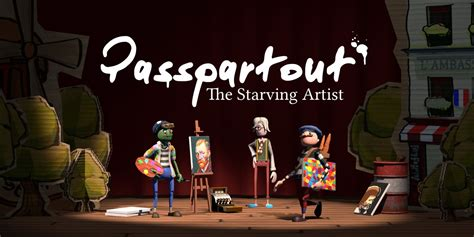 passpartout  starving artist nintendo switch