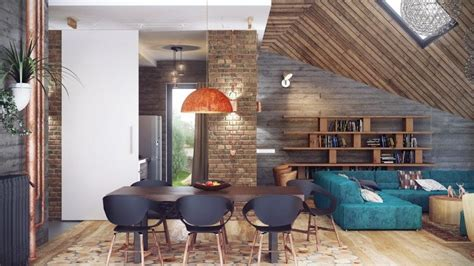 7 Inspirational Loft Interiors by Loft House Interior Design Amazing Interior Sofa