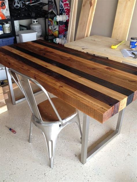 multistained dining table  inditables  etsy