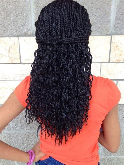 Curly Box Braids   LONG HAIRSTYLES