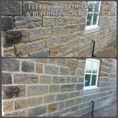 fleetwood roofing repointing barnsley