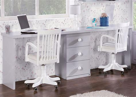 bureau de lit chambre avec lit et bureau chez ksl living