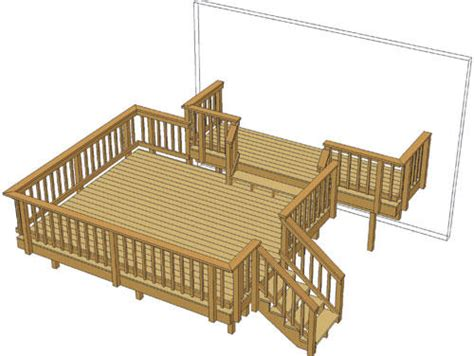 12 deck boards menards 14 x 12 deck w 14 x 4 step up at menards 174
