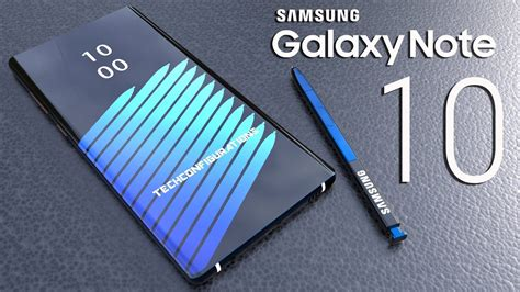 samsung galaxy note 10 introduction concept design the