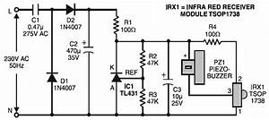 Remote Control Toy Car Circuit Diagram